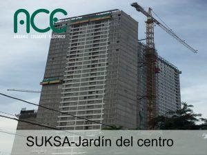SUKSA-Jardín-del-centro-Andamios-Colgantes